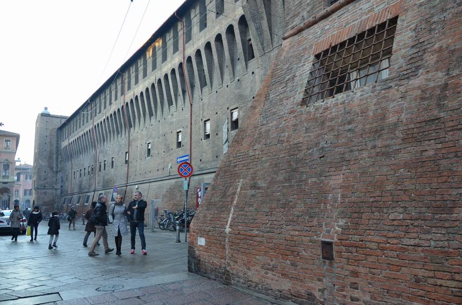 Стена дворца Даккурсио