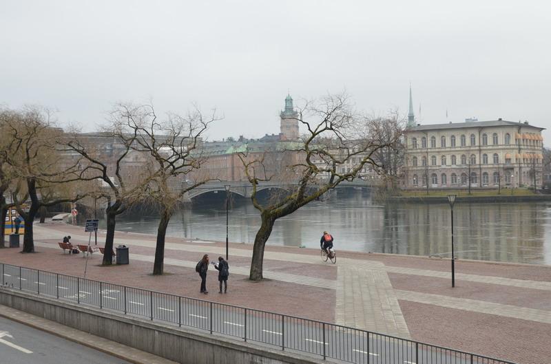 Стокгольм набережная
