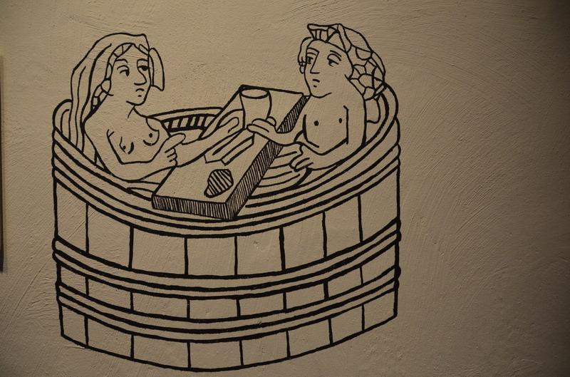 Принятие ванн в Средние века