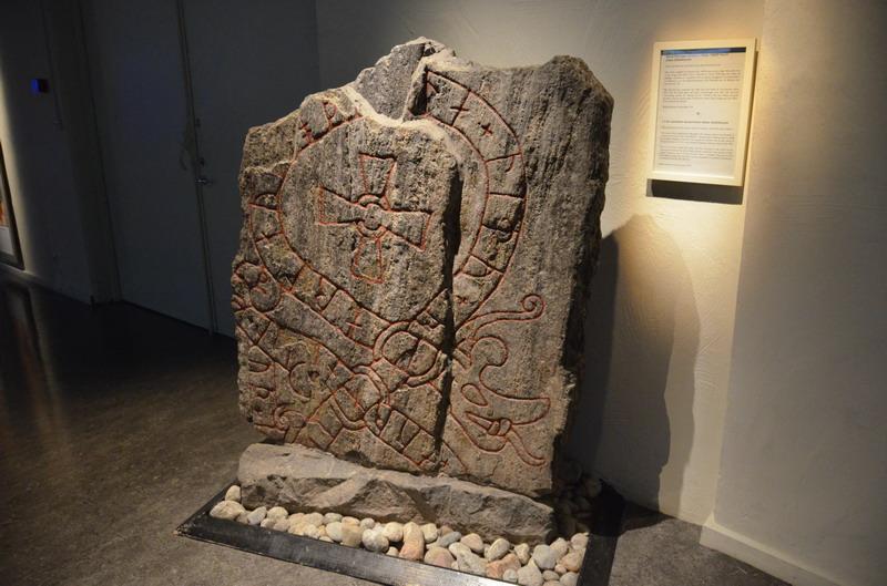 Стокгольм, музей средневековья, руны