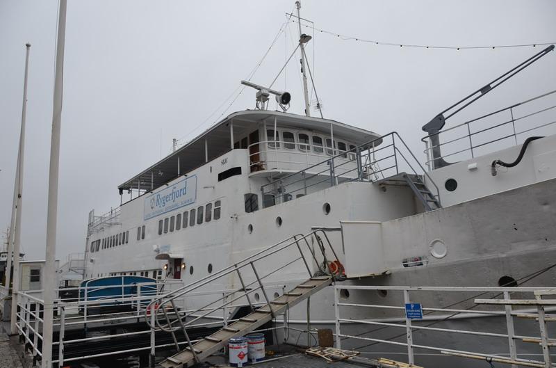 Стокгольм, плавучий отель Rigerfjord