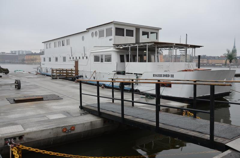 плавучий отель Rigerfjord