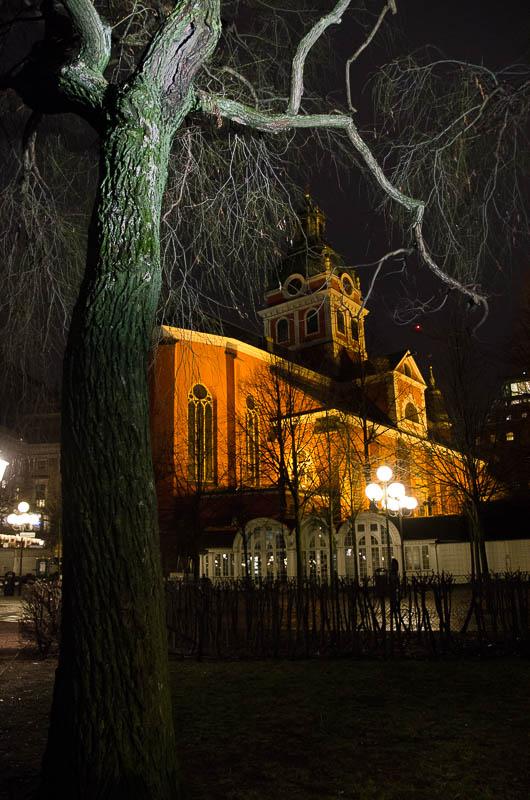 Стокгольм, церковь Якова
