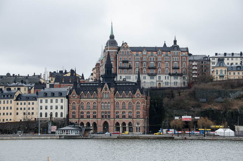 Стокгольм, вид на Седермальм