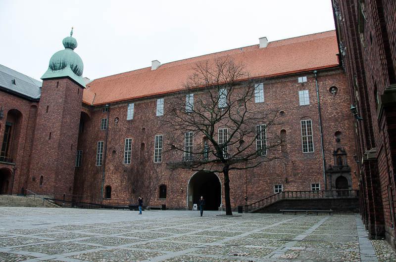 Стокгольм, Ратуша, внутренний двор