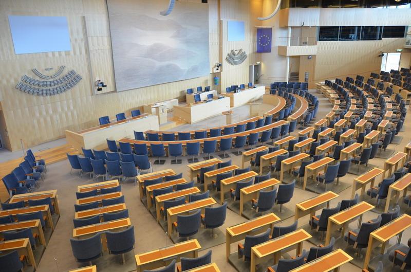 Риксдаг, пленарный зал