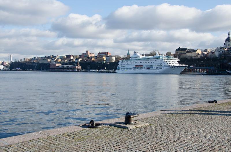 Стокгольм, паром