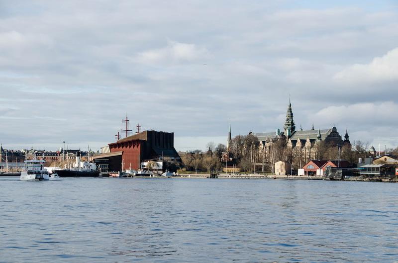 Юргорден, Северный музей и музей корабля Васа