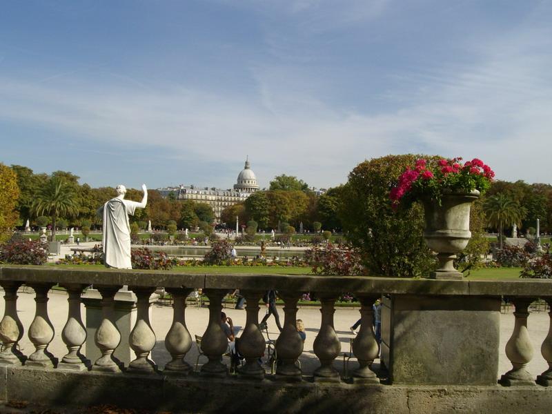 Париж, Люксембургский сад