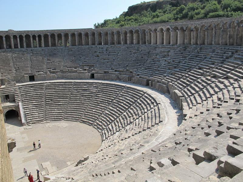 Театр в Аспендосе