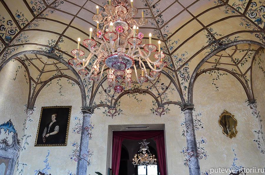 Дворец Борромео интерьеры
