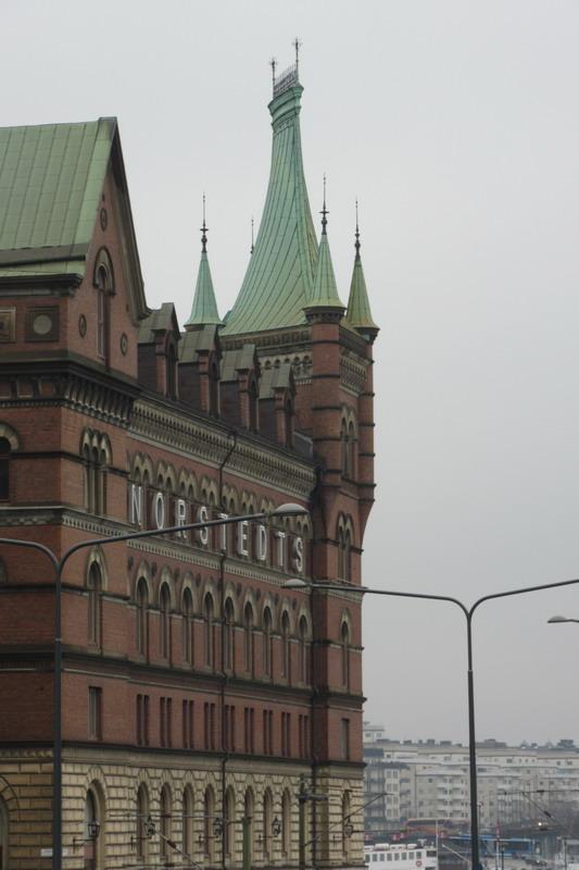 здание шведского Риксдага