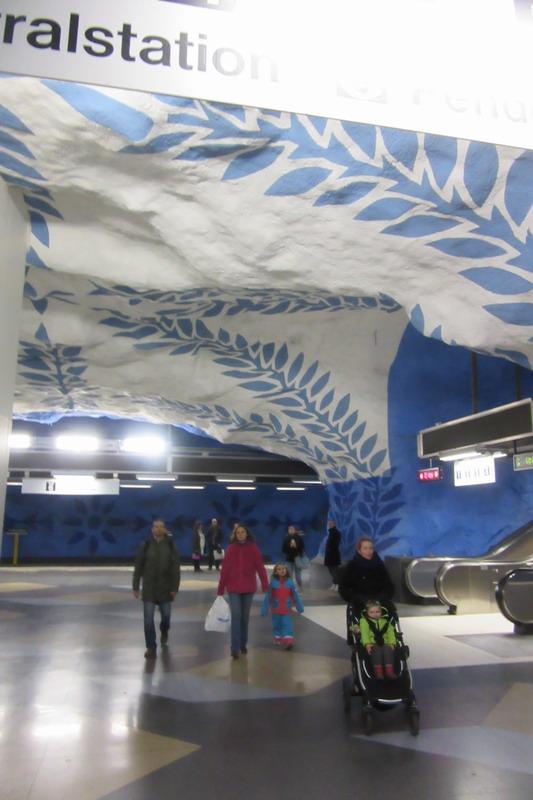 Стокгольм, метро