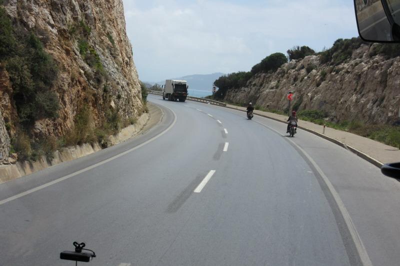 Дорога из Антальи в Аланью