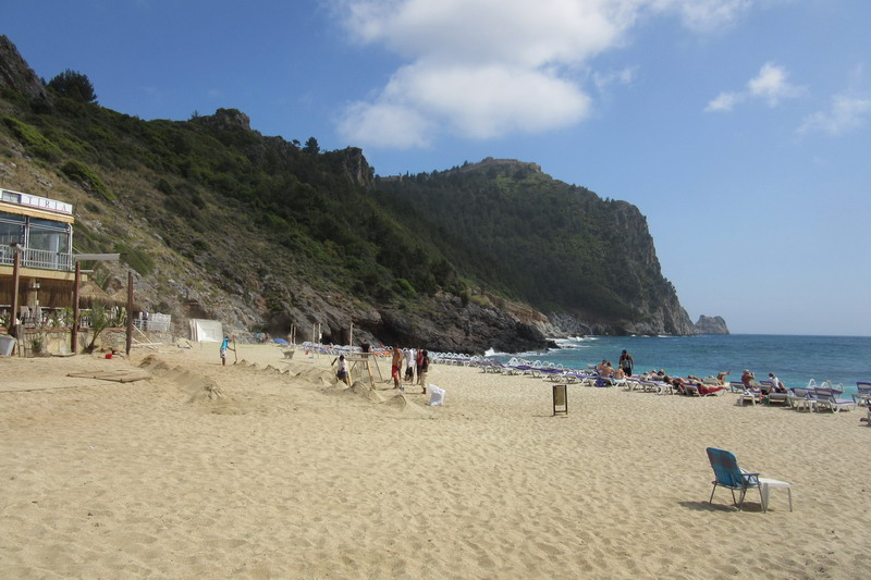 Аланья пляж Клеопатры