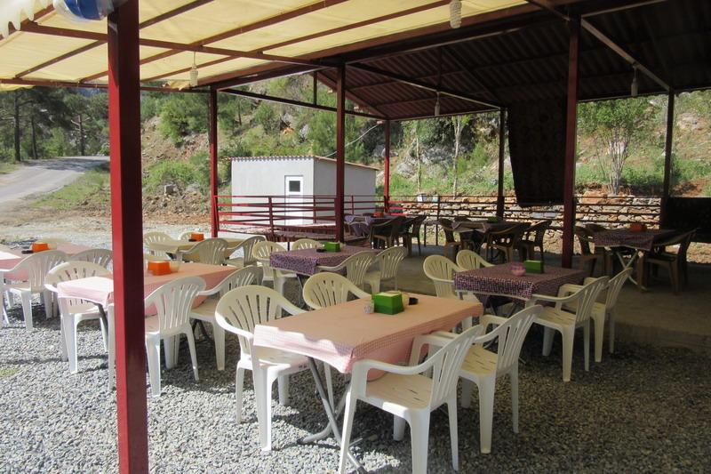 Аланья, кафе в горах