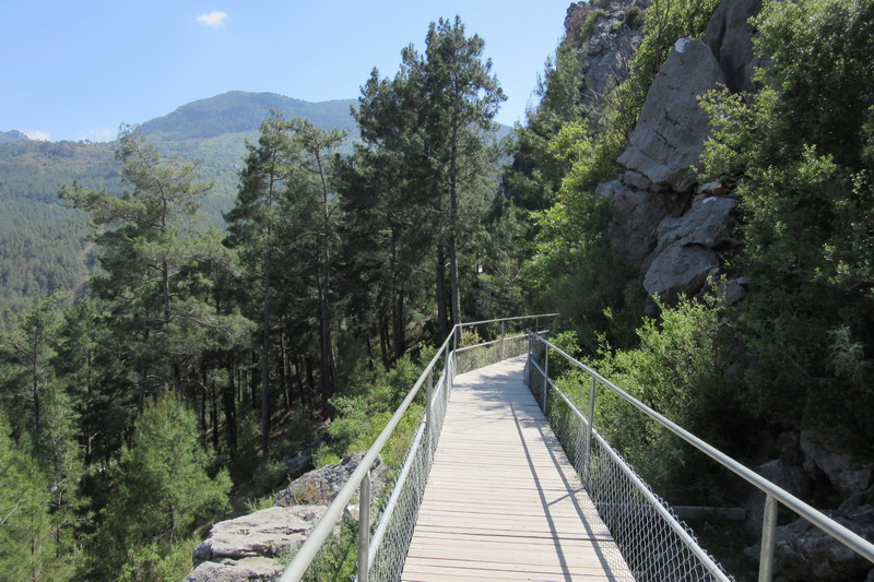 Аланья, в горах