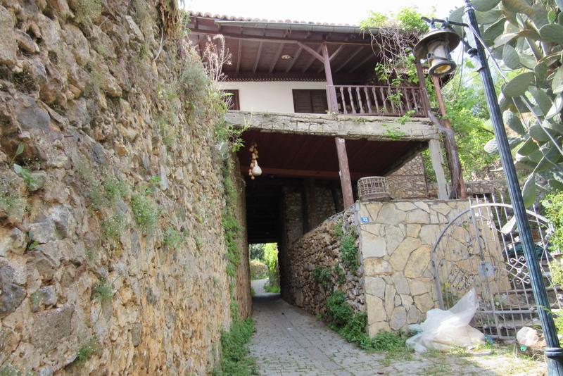 Аланья дом на горе