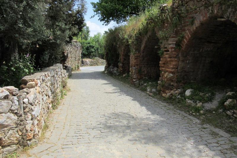 Аланья дорога из Ичкале в Эхмедек