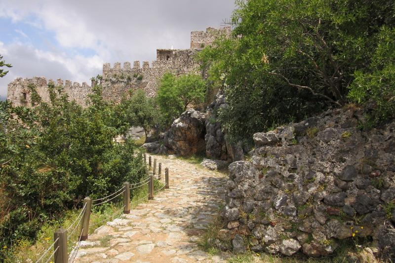 Аланья дорога к крепости Эхмедек