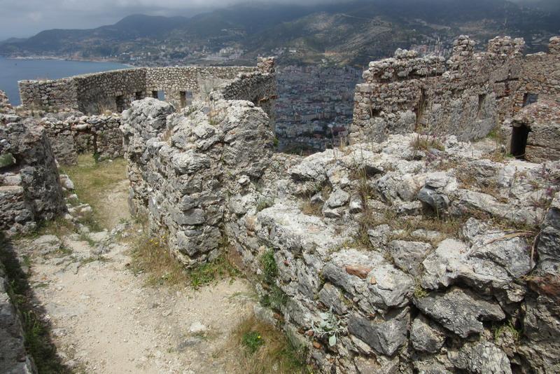 Аланья крепость Эхмедек