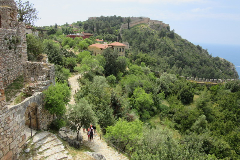 Вид на крепость Ичкале
