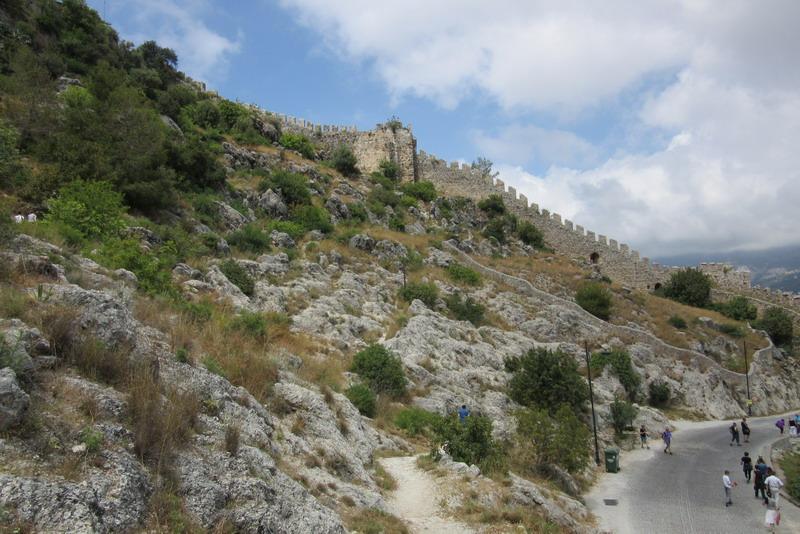 Аланья крепости