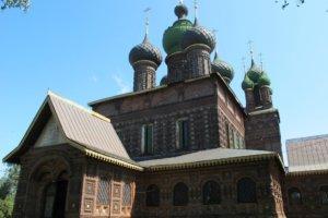 Толгский монастырь, храм Иоанна Предтечи в Толчково и Карабиха