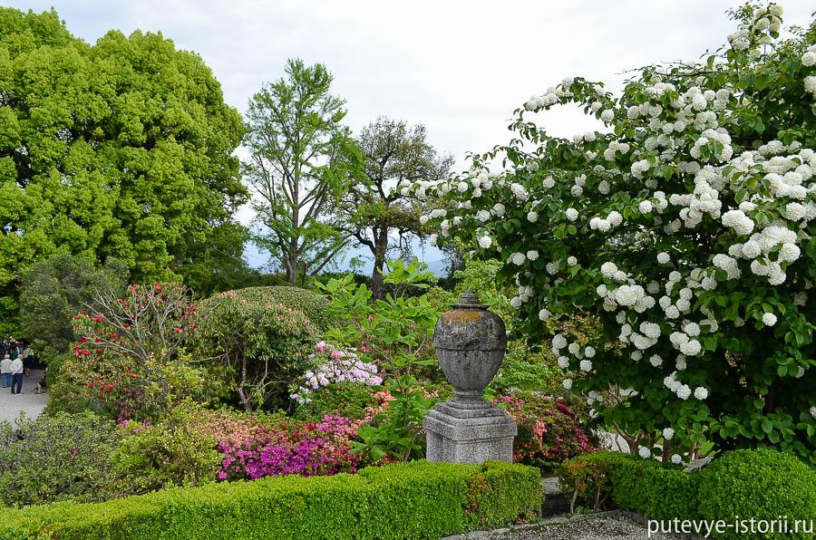 Изола Белла сады