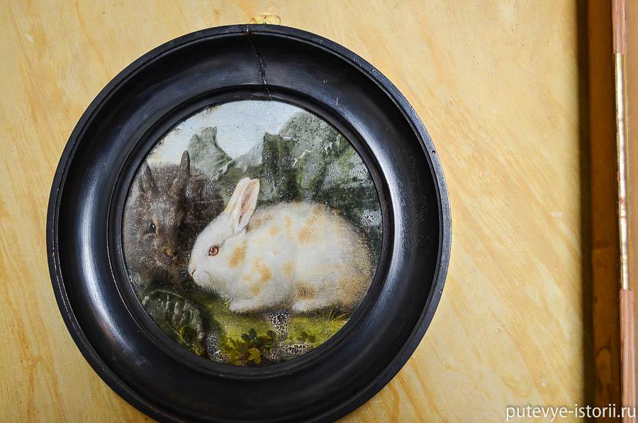 Картина с кроликом
