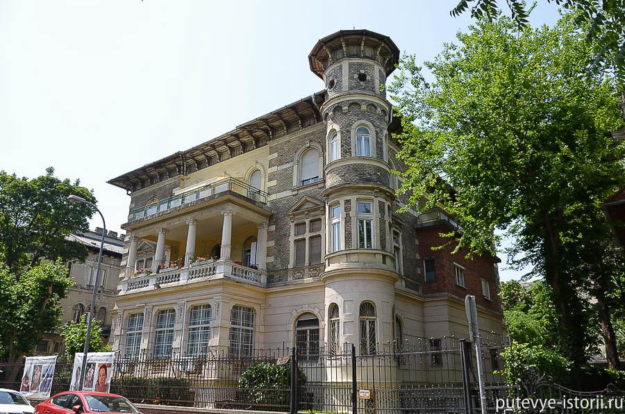 Будапешт, дом в стиое Сецессион