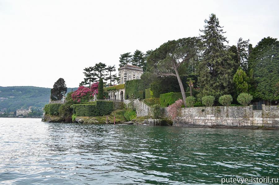 Изола Белла, дворец Борромео с воды