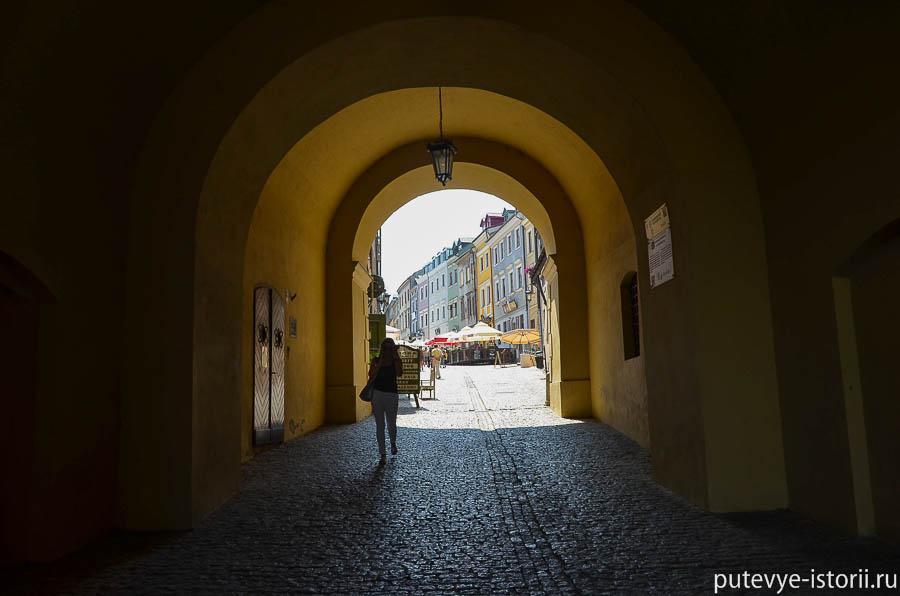 Люблин, Гродские ворота