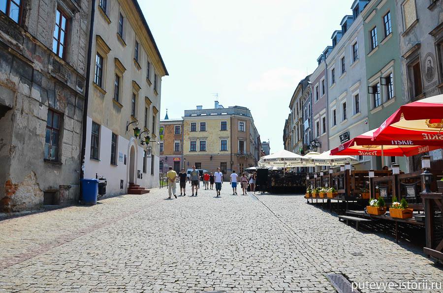 Люблин, Старый город
