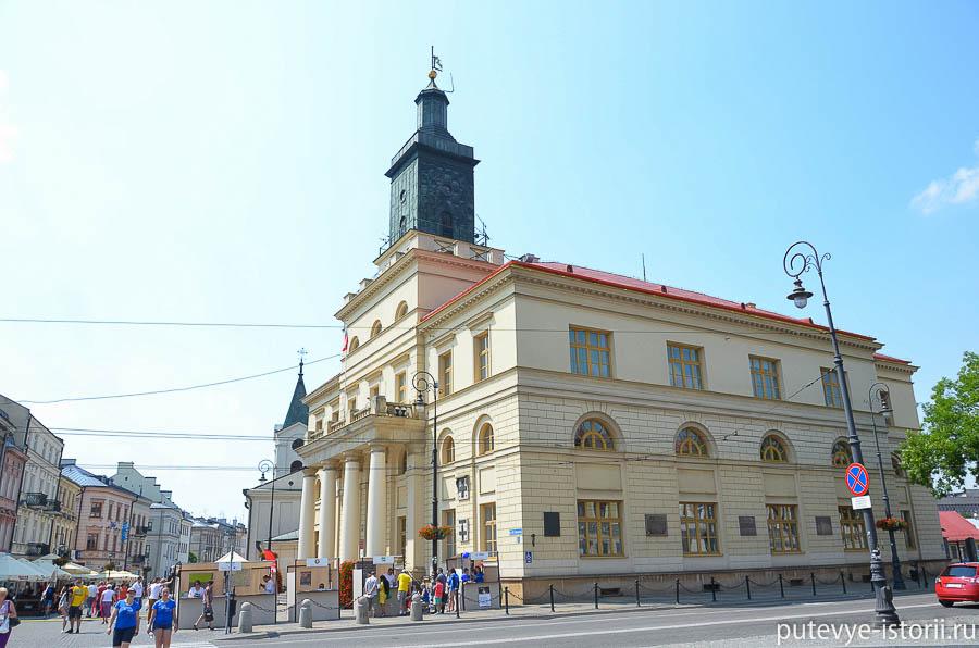 Люблин Новая ратуша