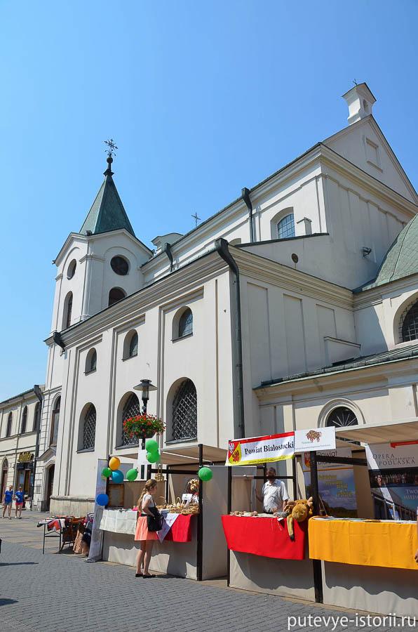 Люблин церковь Святого Духа