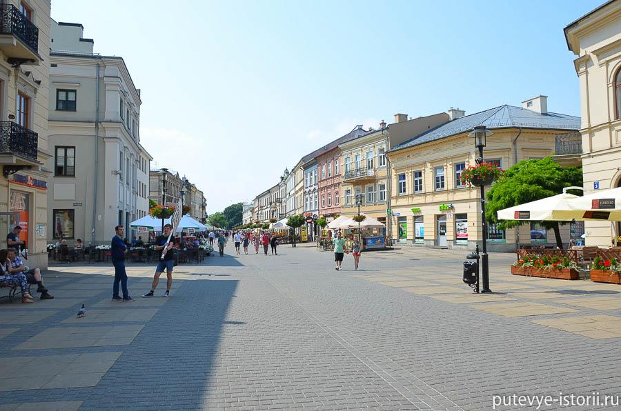 Люблин Краковское предместье