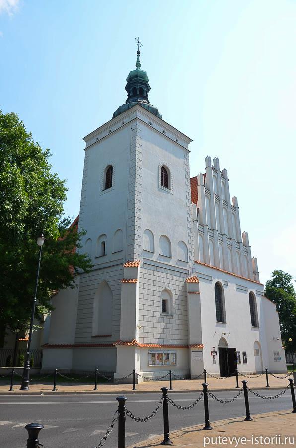 Люблин, храм Марии-Победительницы