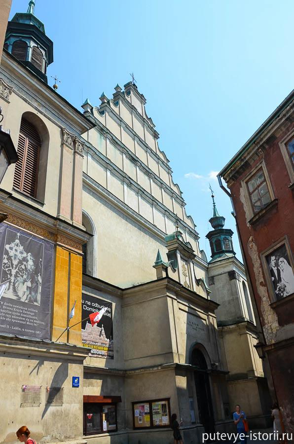 Люблин, доминиканский собор