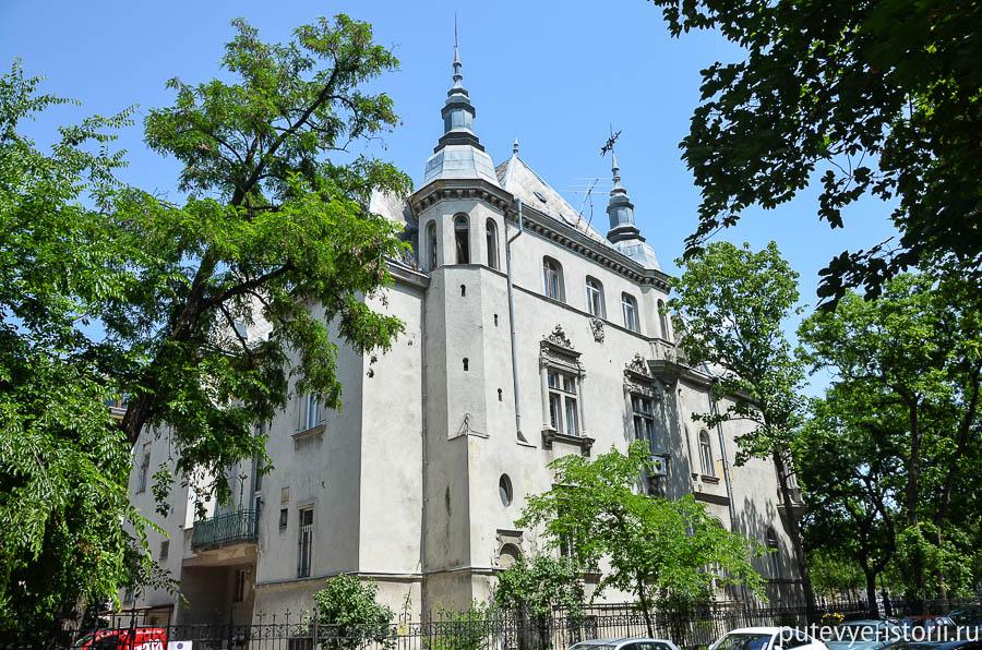 Образцы Сецессион в Будапеште