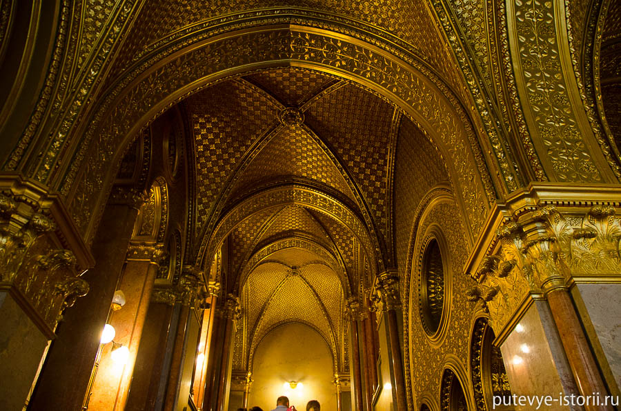 Венгерский парламент интерьеры