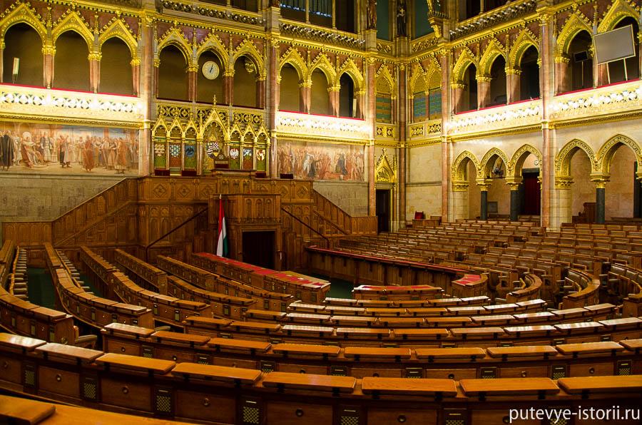 Зал заседаний Национального собрания