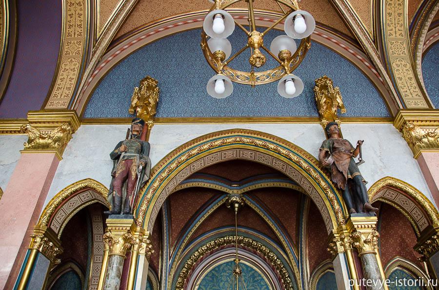 Интерьеры парламента