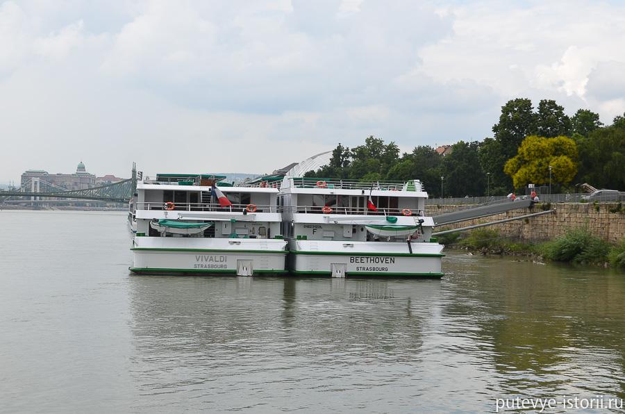 Корабли на Дунае