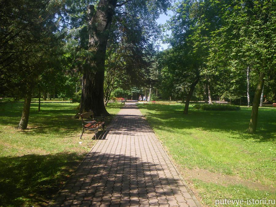 Парк в Мишкольце
