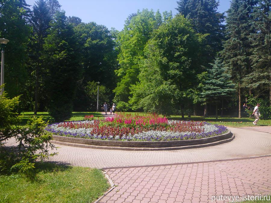 Мишкольц, парк