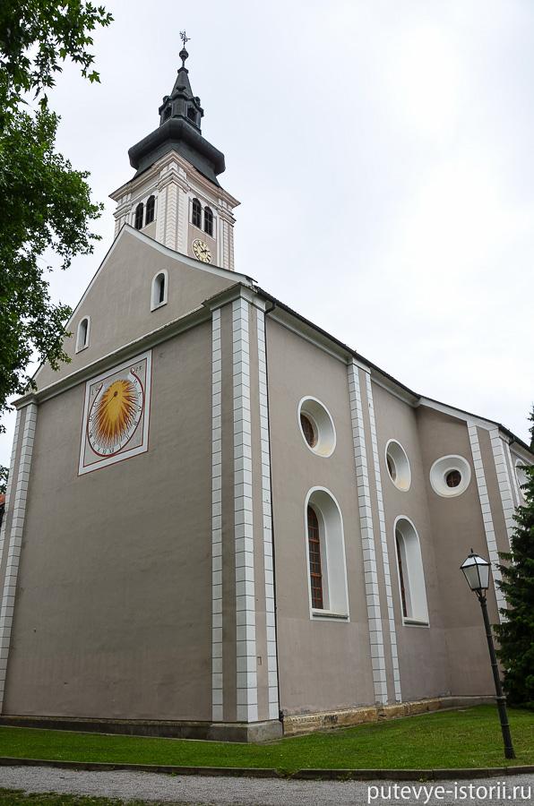 Вараждин церковь Святого Николая