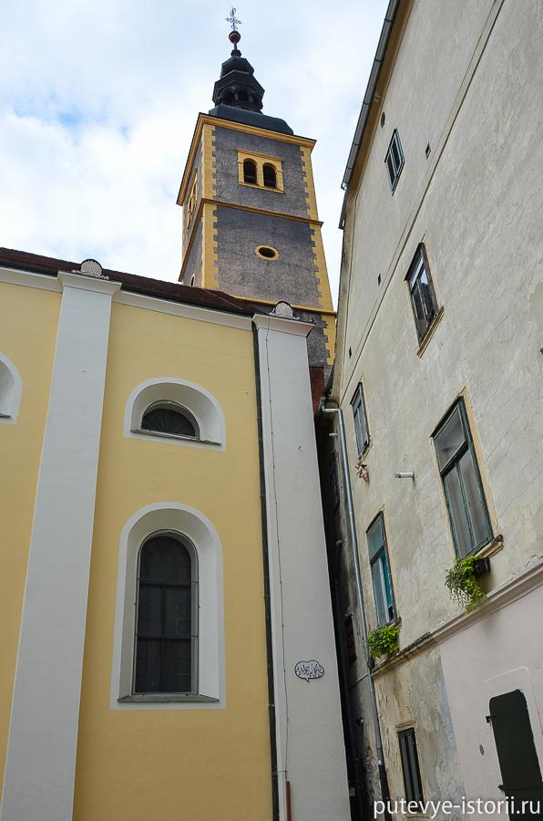 Вараждин Францисканская церковь