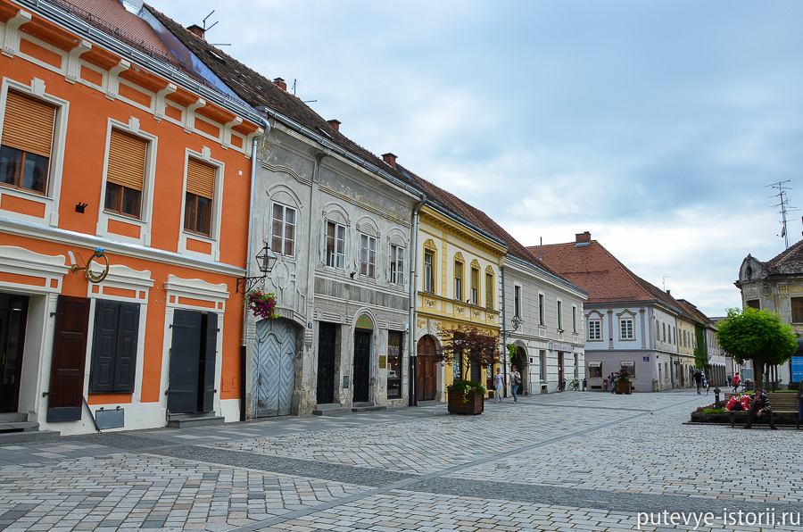 Вараждин Старый город