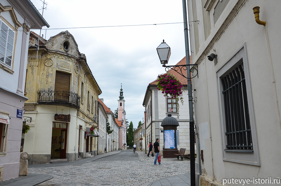 Вараждин Урсулинская улица
